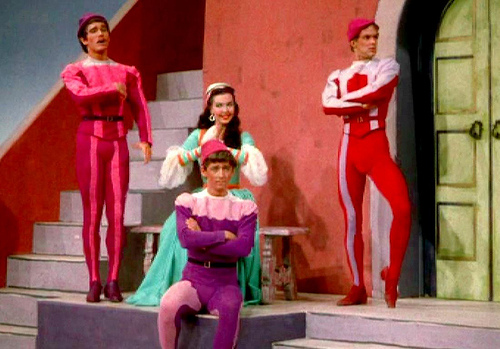 Hollywood's musical of 'The Taming of the Shrew'