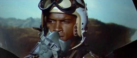 James Edwards as Lt. Maples during the sequence when he is given the wrong target.