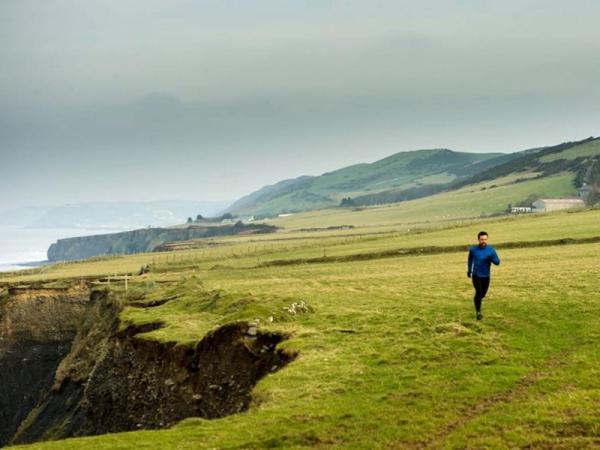 DCI Mathias on his morning run