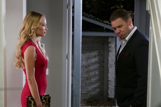 Ola and Bogdan offer the parallel romance as they try to maintain their marriage.