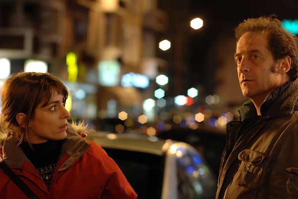 Audrey Dana (Marion) and Vincent Lindon (Simon)