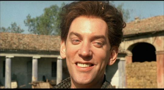 Donald Sutherland as Attila.