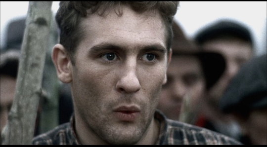 A young Gerard Depardieu as Olmo.