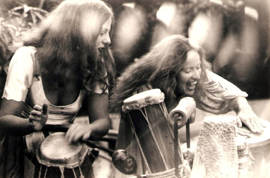 Luli (left and Lucina in the 1970s