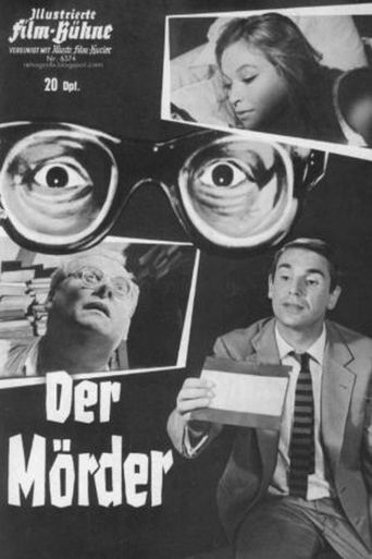 The German poster – emphasising Kimmel's thick glasses
