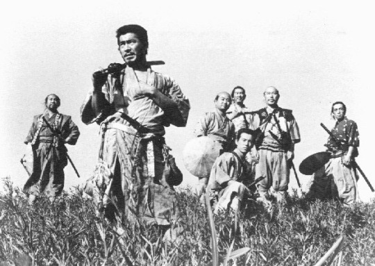 Kurosawa's original with Mifune Toshiro in the foreground