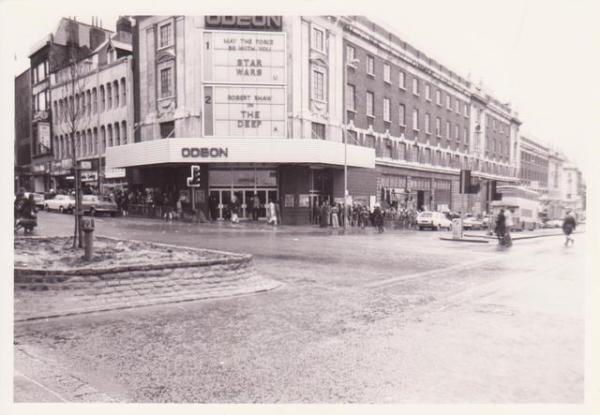 The Odeon, headrow