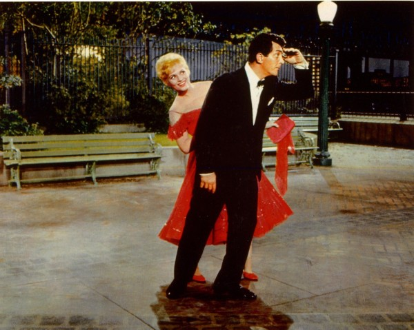 Dean Martin and Judy Holliday