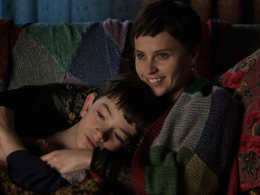 Conor and his mum (Felicity Jones