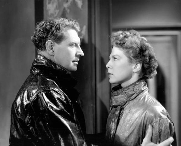 Torquil MacNeil (Roger Livesey) and Joan Webster (Wendy Hiller)