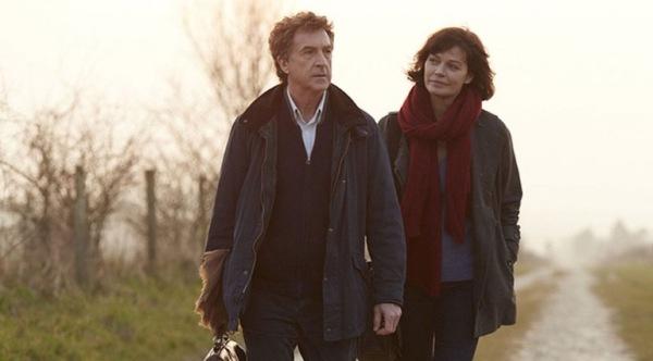 Francois Cluzet and Mariane Denicourt